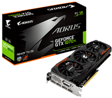 GigaByte GV-N107TAORUS-8GD AORUS GeForce GTX 1070Ti 8G Graphics Card